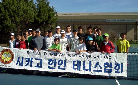 2012년도 제3회 중서부 한인 주니어 테니스대회