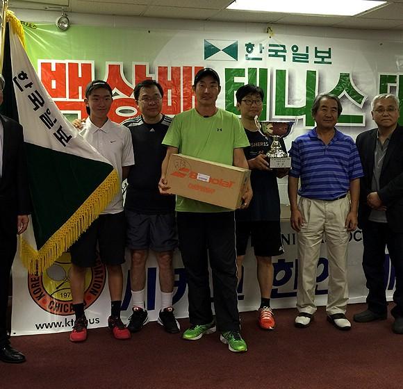 2015년도 한국일보 백상배 한인 테니스대회